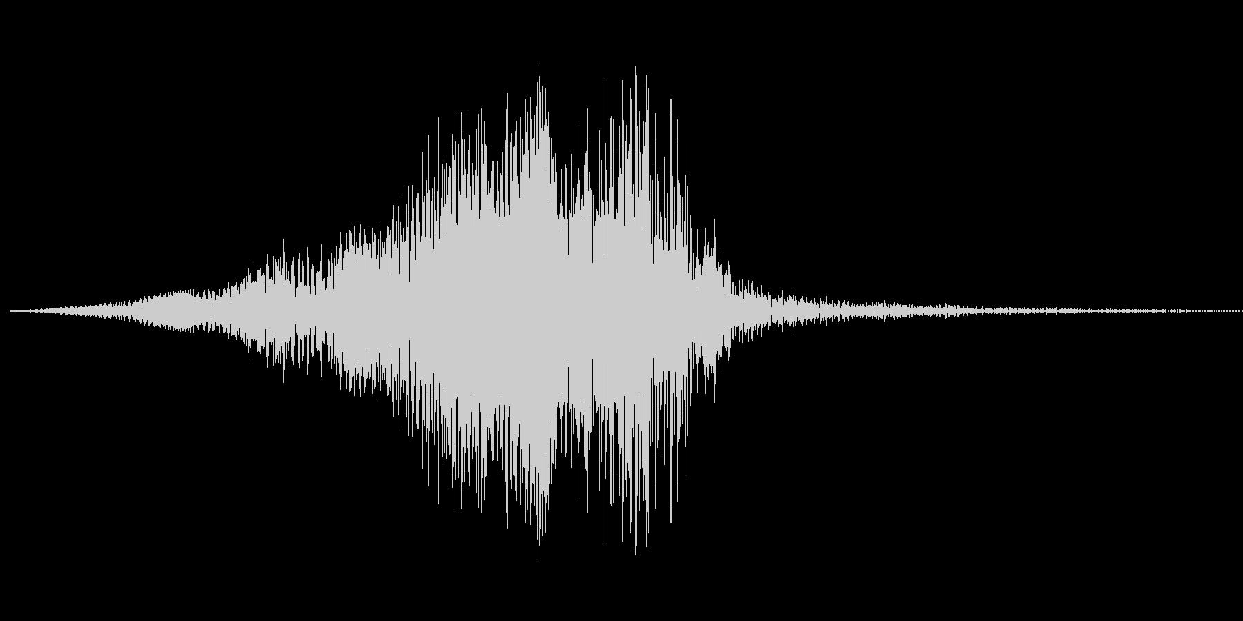 アウトバックランチャー、低周波数ト...の未再生の波形