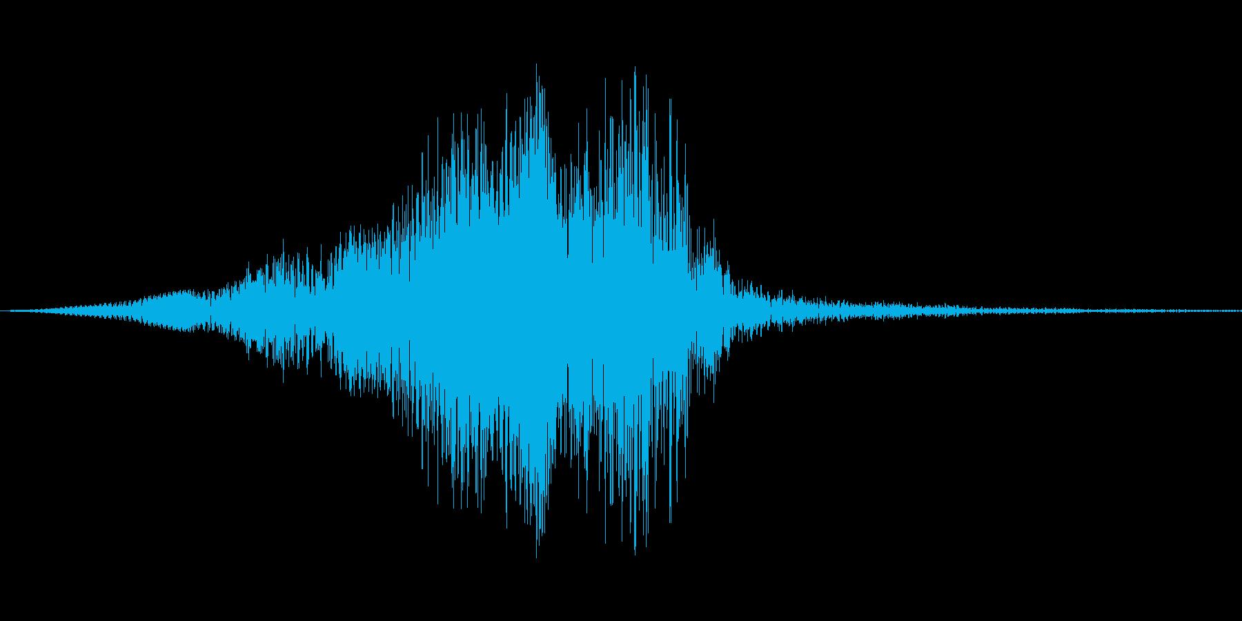 アウトバックランチャー、低周波数ト...の再生済みの波形