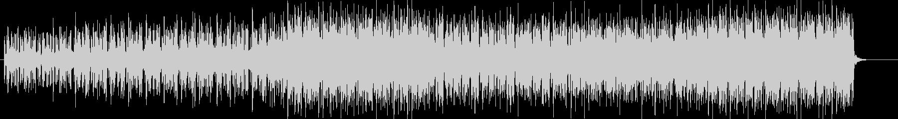 クイズ、ゲームBGMの未再生の波形