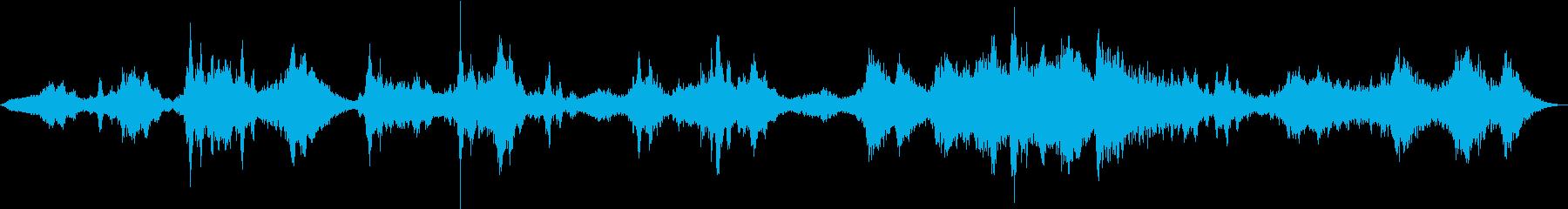 シェイプシフタースイープピッチ、オ...の再生済みの波形