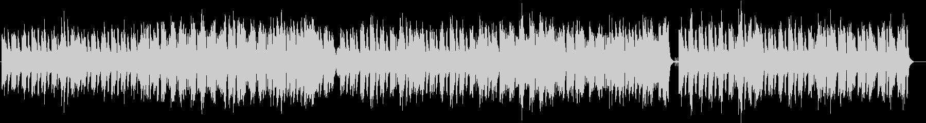 フルート、オーボエ、Pの爽やかなボサノバの未再生の波形