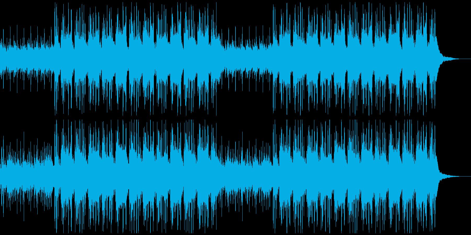 お洒落でリラックスした和風ヒップホップ1の再生済みの波形