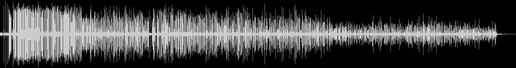 ミグ溶接機は激しいスナップ、クラッ...の未再生の波形