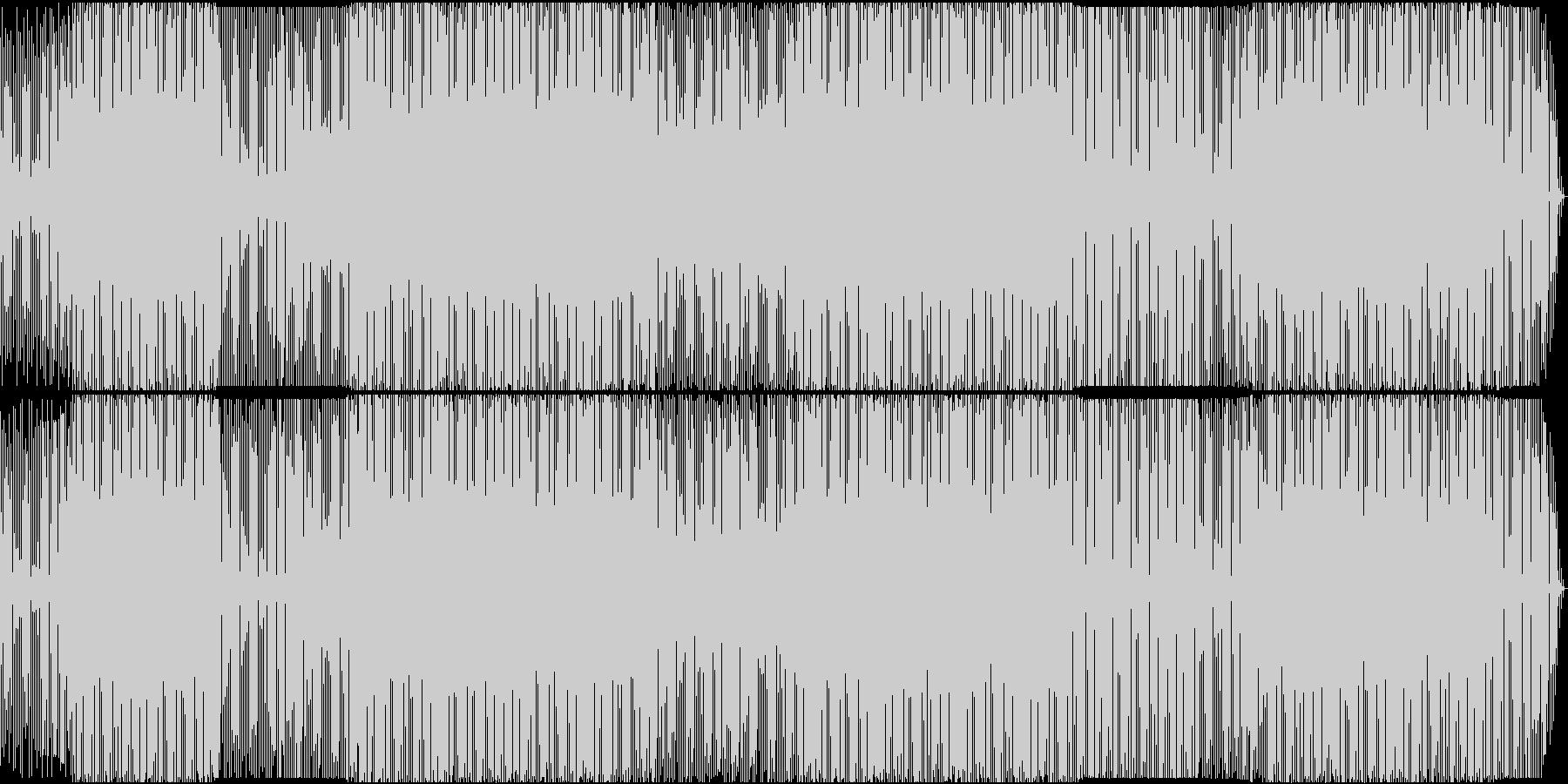 機械みのあるプログレッシブテックトラックの未再生の波形