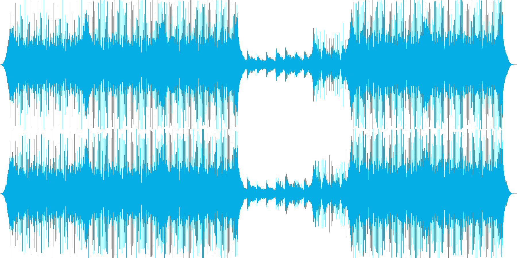 ポップ ロック コーポレート アク...の再生済みの波形