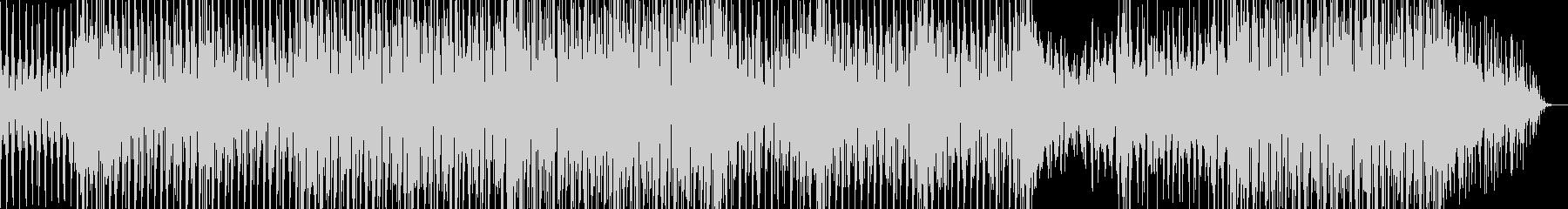 おしゃれで不思議な感じのBGMの未再生の波形