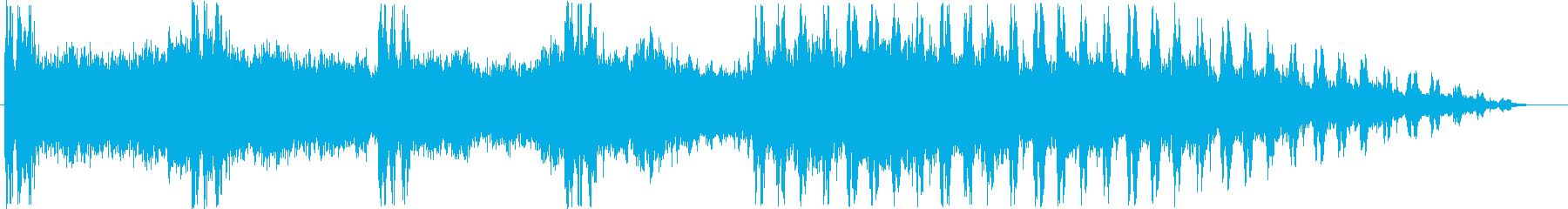 Relaxation music's reproduced waveform