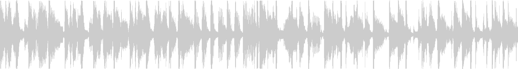 サックスのクールなファンクトラックの未再生の波形