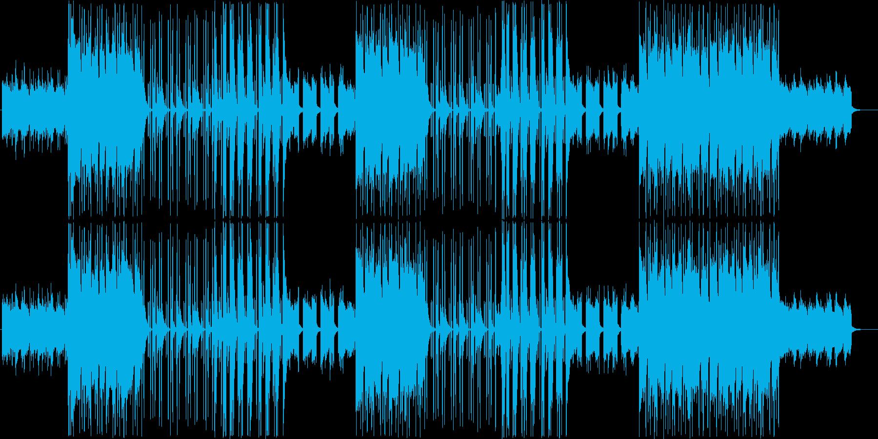 大人な雰囲気のあるシックなR&Bの再生済みの波形