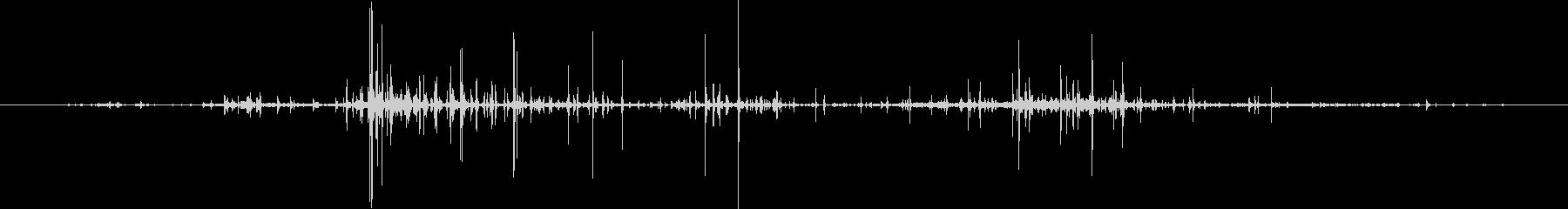 関節技で締める音Aの未再生の波形