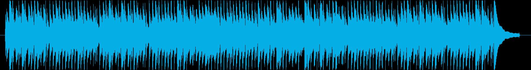 アコギとリコーダーの明るいほのぼのポップの再生済みの波形