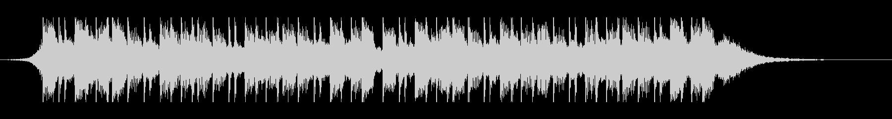 幸せなラマダン(30秒)の未再生の波形