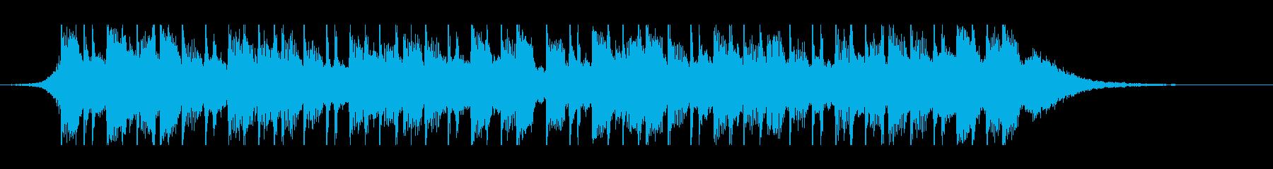幸せなラマダン(30秒)の再生済みの波形