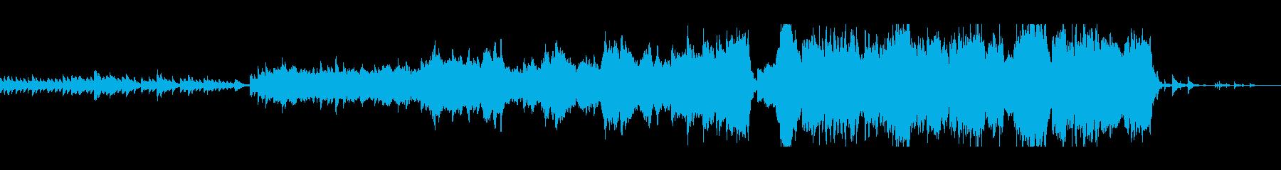 ピアノの前奏から盛り上がる曲。の再生済みの波形