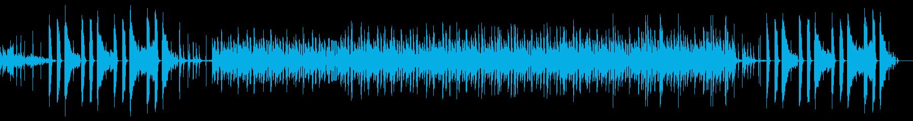 まろやかなボッサ・ヒップホップ・ピアノの再生済みの波形