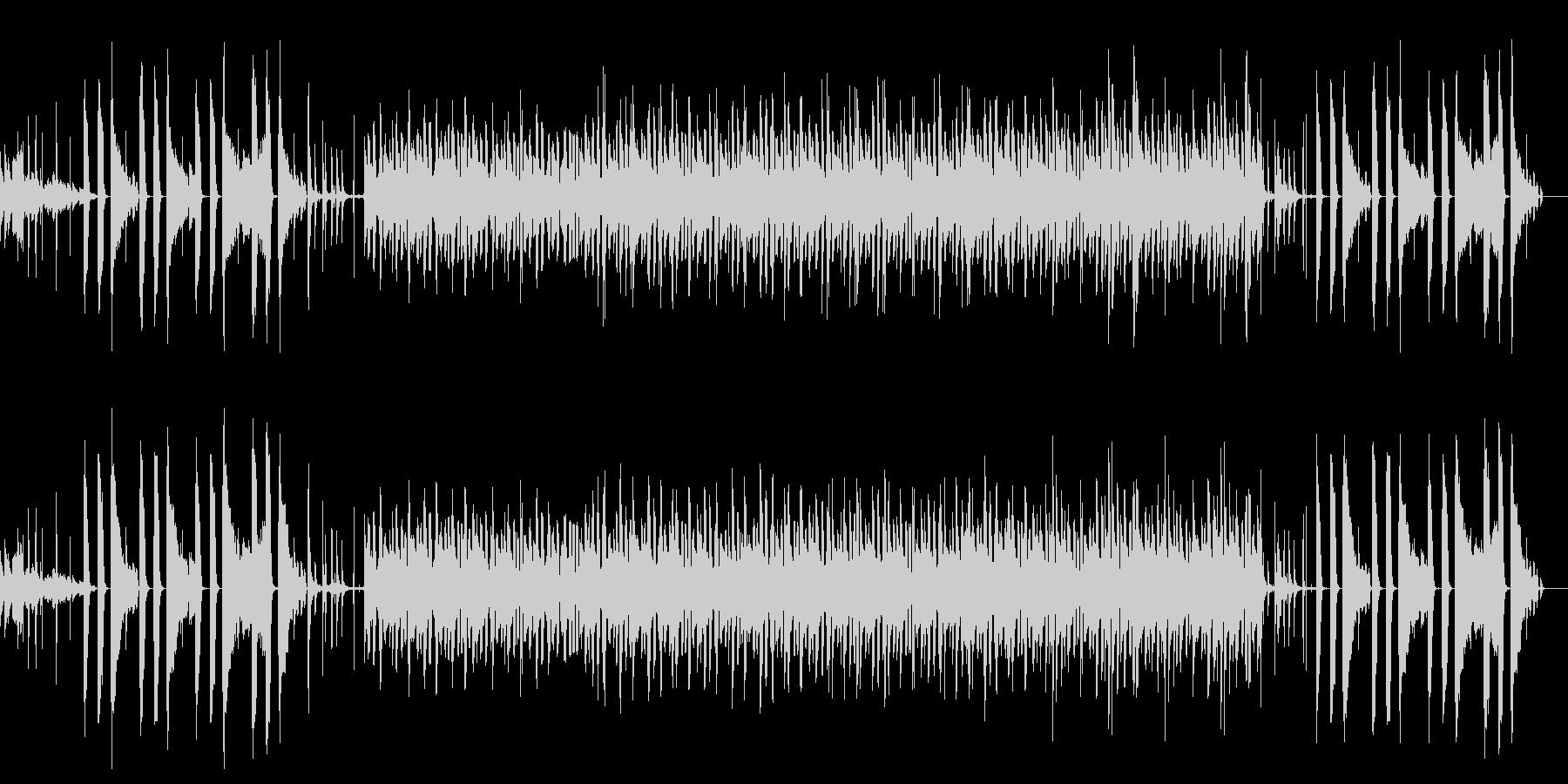 まろやかなボッサ・ヒップホップ・ピアノの未再生の波形