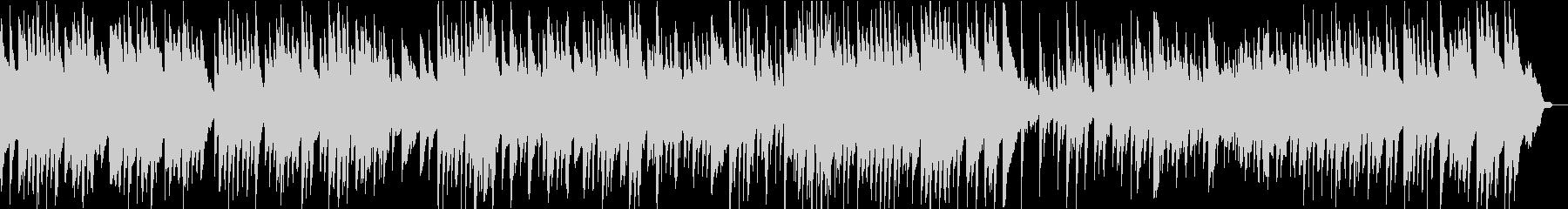 日本的な和風ピアノ・ソロ楽曲。約2分半の未再生の波形
