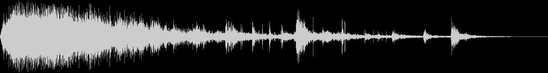 DEBRISによる大規模なメタルク...の未再生の波形