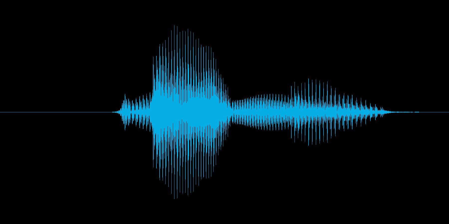 7(数字、女性)の再生済みの波形