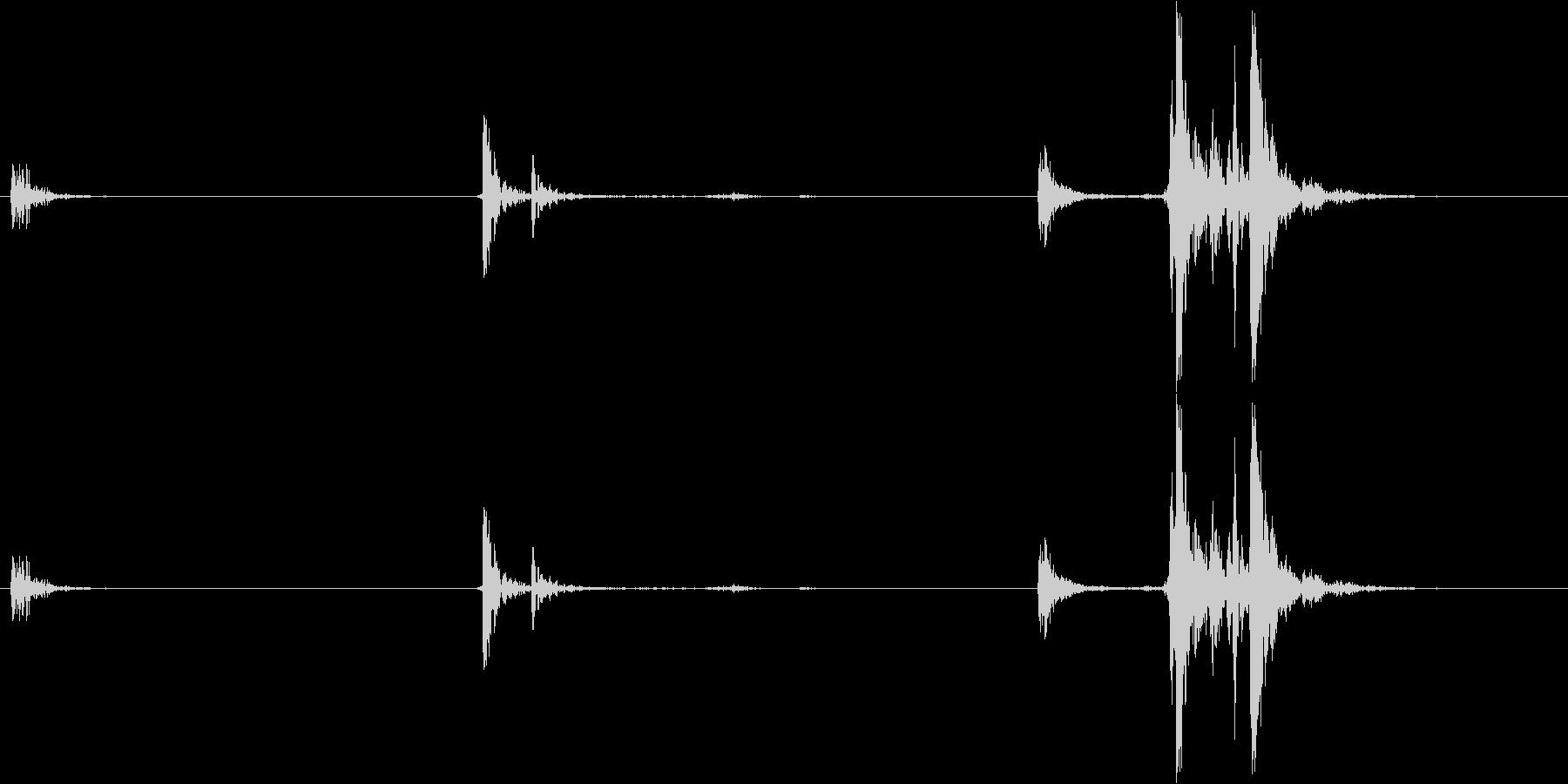 AK47:CLIPマシンガンフォー...の未再生の波形