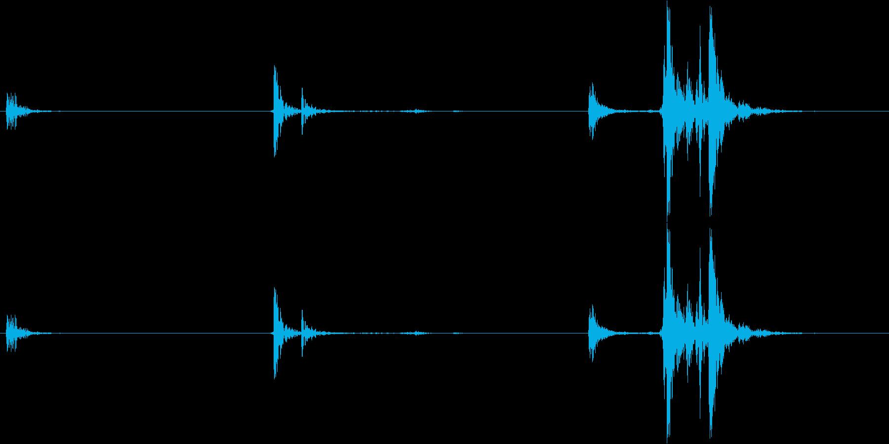 AK47:CLIPマシンガンフォー...の再生済みの波形