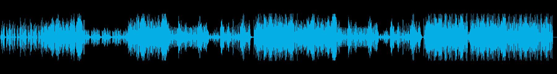 オールドスクールなハウスの再生済みの波形
