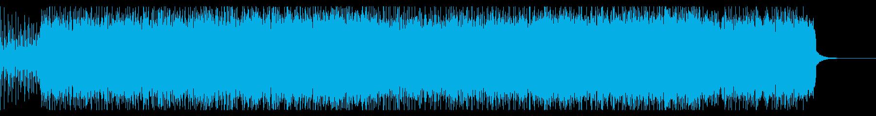 ツーバスが印象的なメタルの再生済みの波形