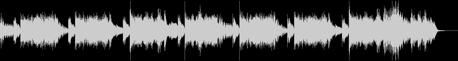 15秒 軽快なハウスミュージックの未再生の波形