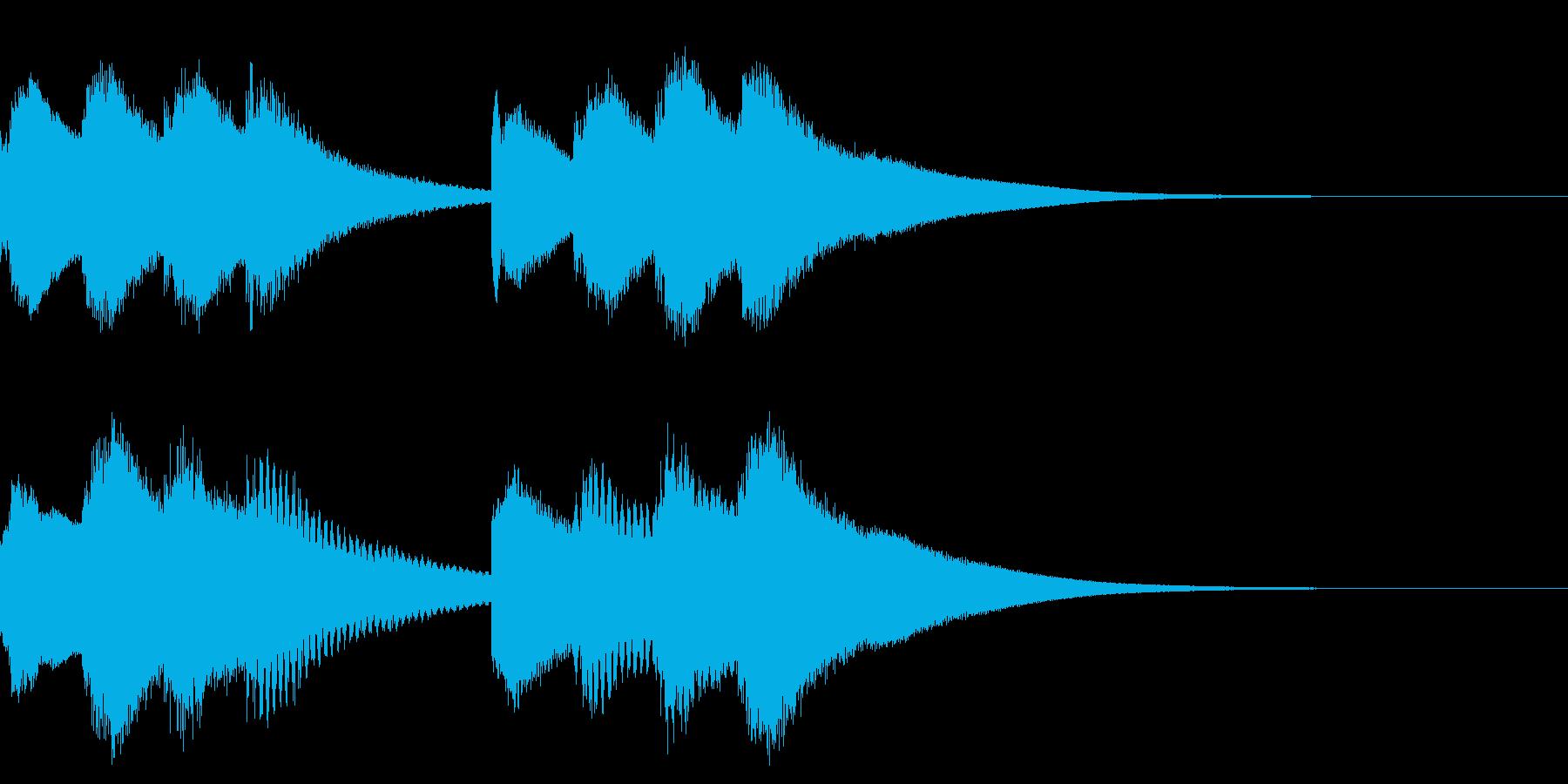 学校のチャイム 2の再生済みの波形