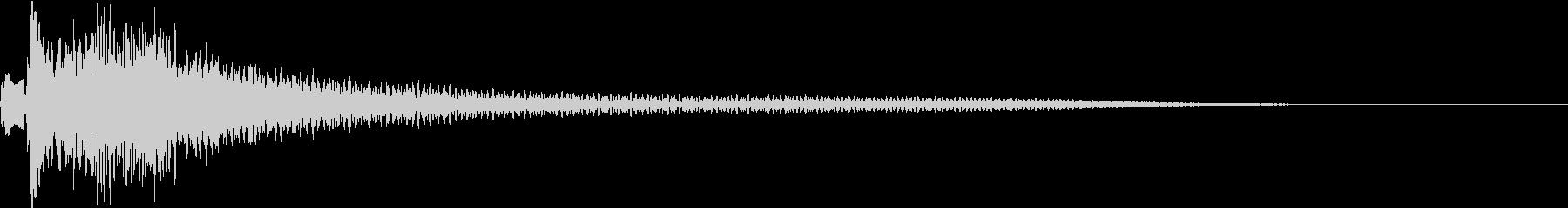 テュルルン:シリアスなハープ・弾くiの未再生の波形