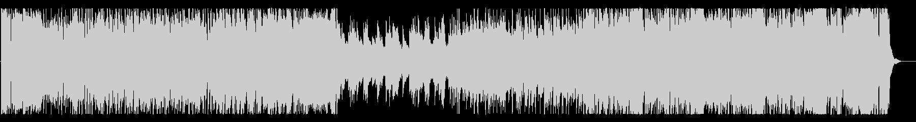 16ビートの3拍子フュージョンの未再生の波形