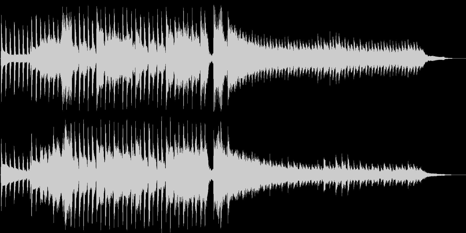 ラララランと歌うショートソングの未再生の波形