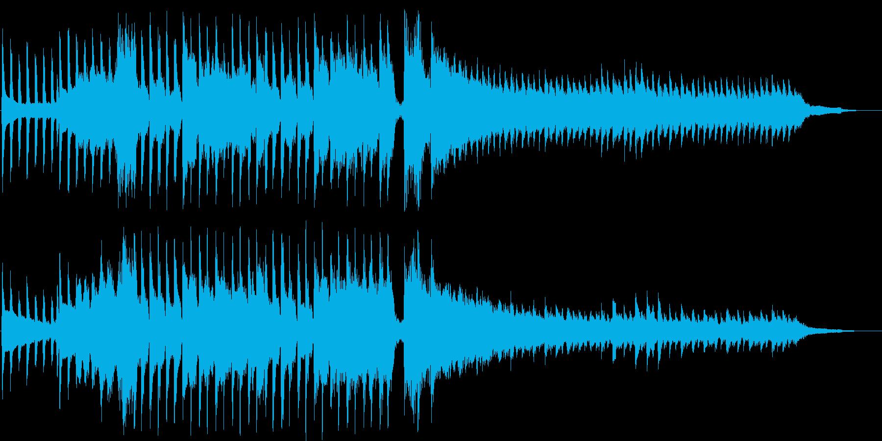 ラララランと歌うショートソングの再生済みの波形