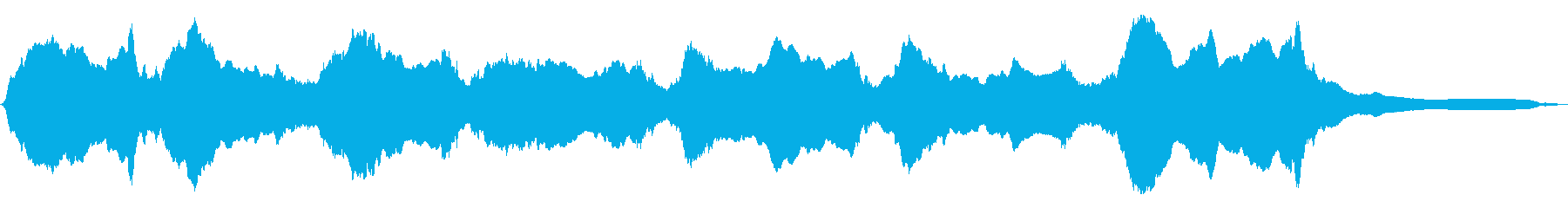 空襲サイレン:ロングブラスト、サイ...の再生済みの波形