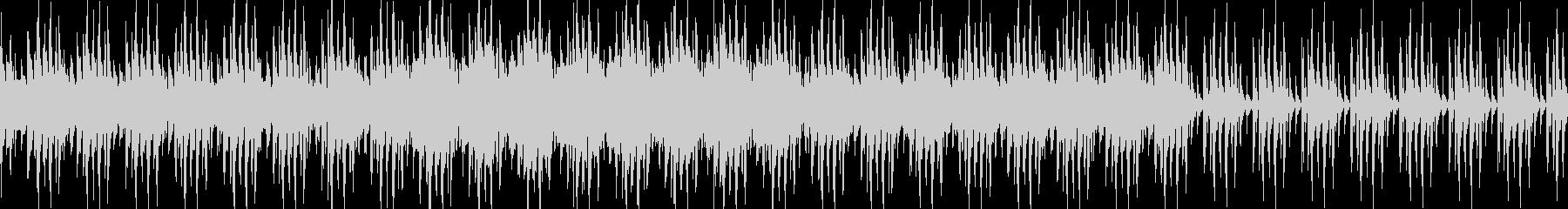 ループ仕様のメインタイトル用楽曲の未再生の波形