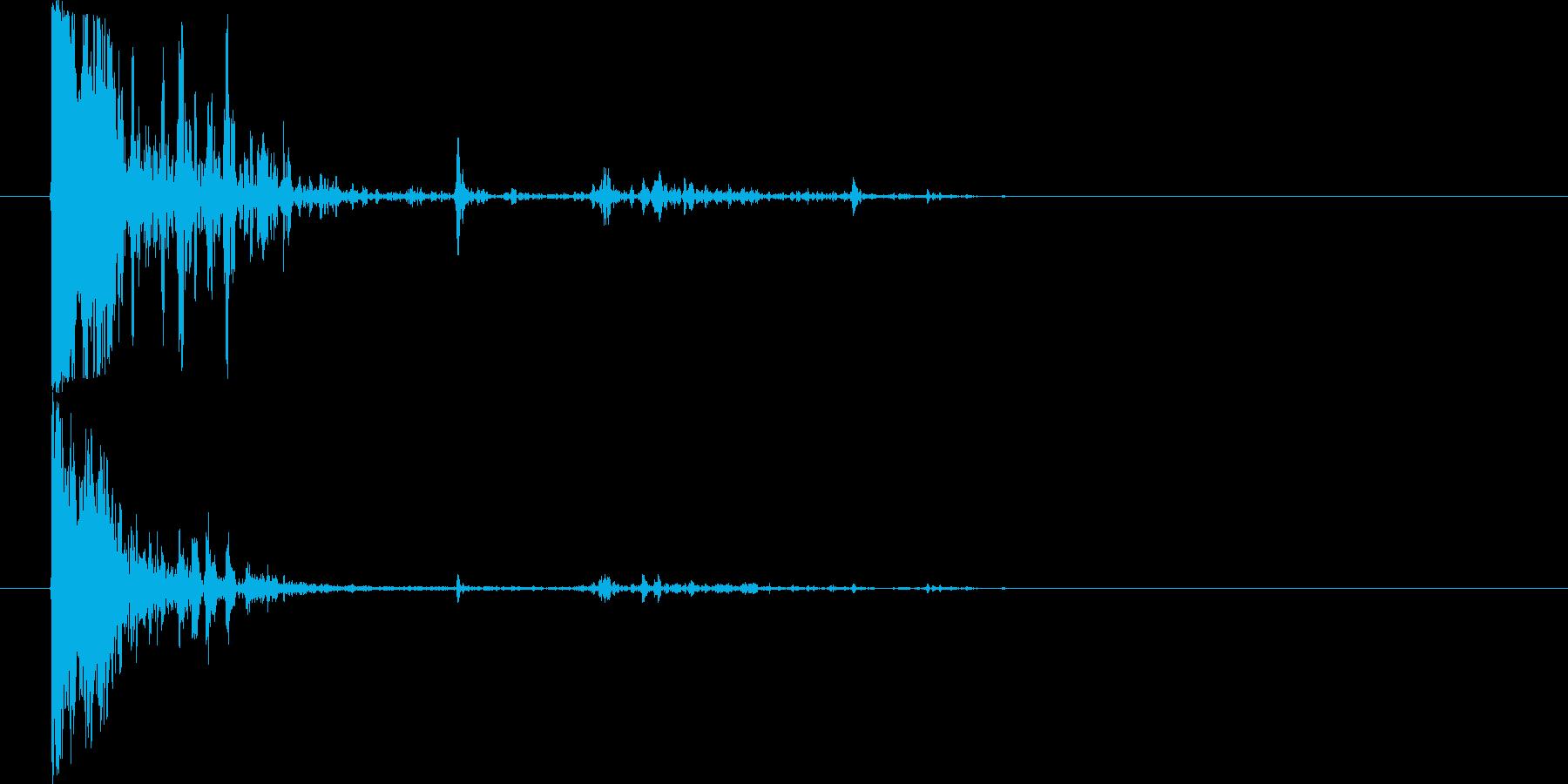 ショットガンファイアリング-Big...の再生済みの波形