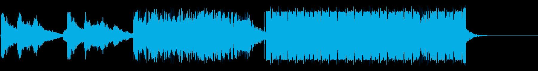 気持ちいいコード感のドラムンベースの再生済みの波形