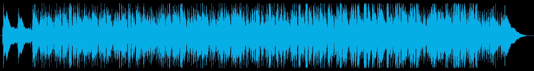 ポジティブでカントリー風なソフトロックの再生済みの波形