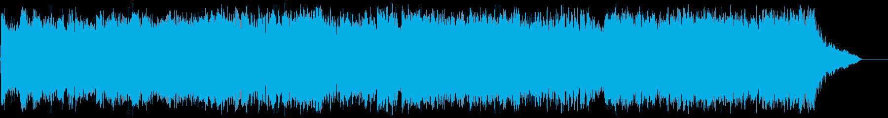 ダークファンタジーオーケストラ戦闘曲71の再生済みの波形