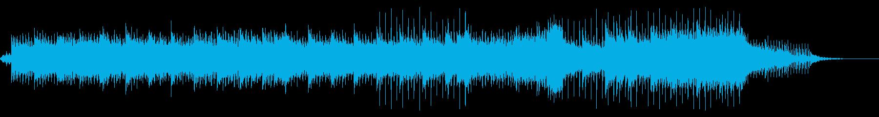 ピアノとアコギがキラキラ綺麗なBGMの再生済みの波形