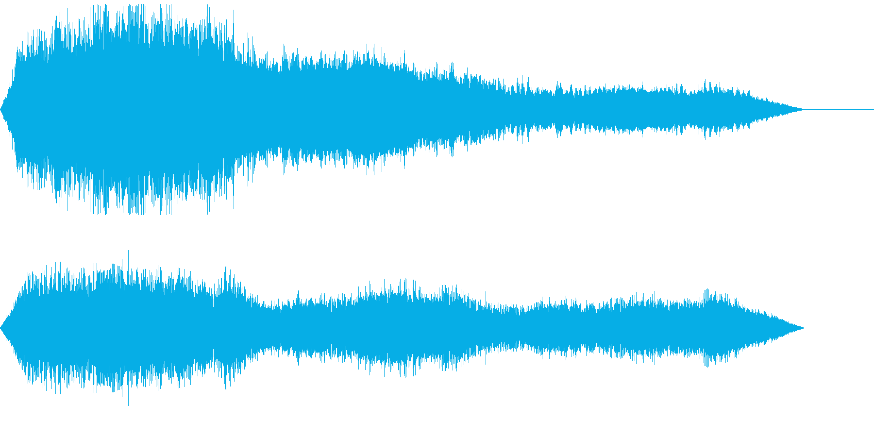 テクノロジー、ミステリアス、技術紹介、④の再生済みの波形