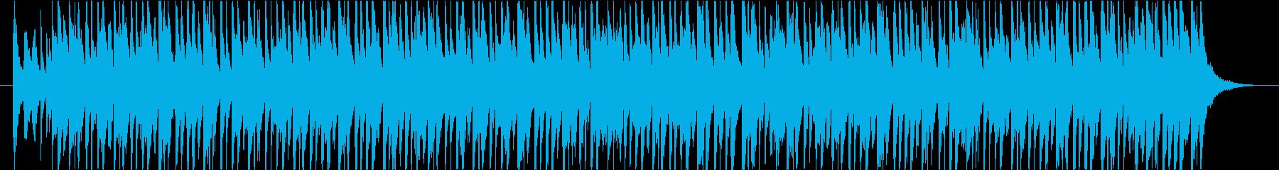 管楽器をメインとした軽快な可愛いPOPSの再生済みの波形