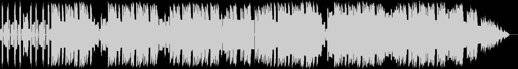 初期のファミコン風な明るめのループBGMの未再生の波形