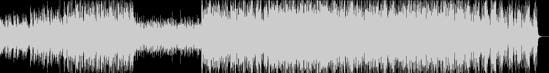 ピアノ主体のテクノポップの未再生の波形