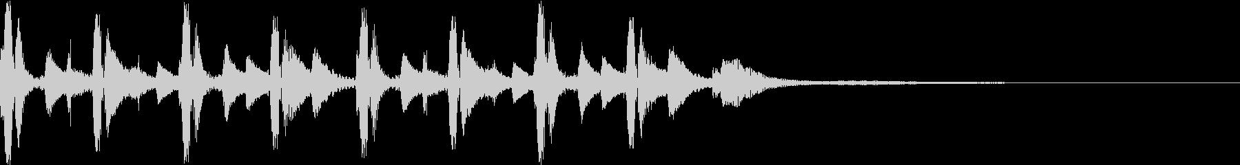 Cute heartwarming opening jingle's unreproduced waveform