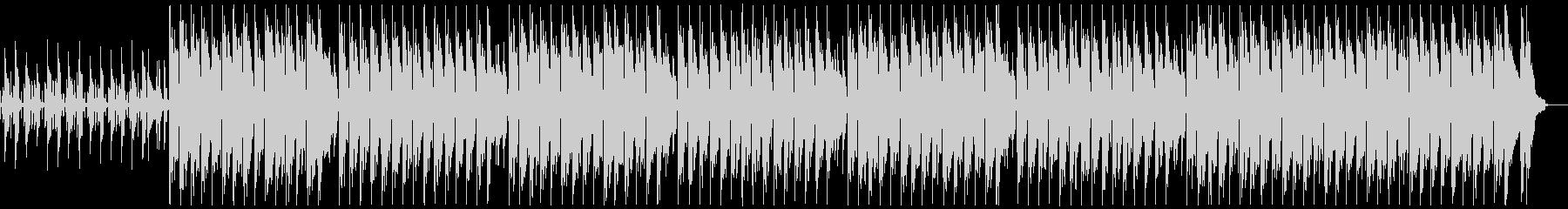 ハッピーなウクレレBGM ループ無の未再生の波形