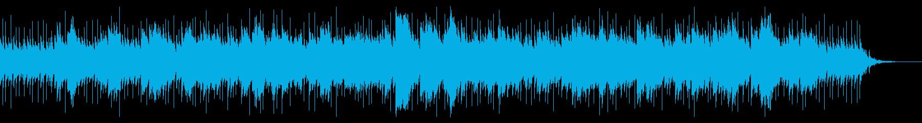 宇宙や星の輝きを表現したBGMの再生済みの波形