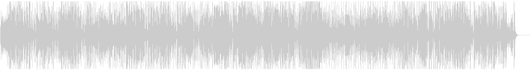 軽快でほんわか嬉しい気分のジプシージャズの未再生の波形