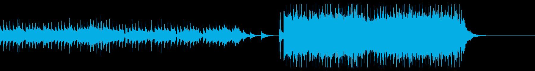 ハロウィン・オルガン・クライマックスの再生済みの波形