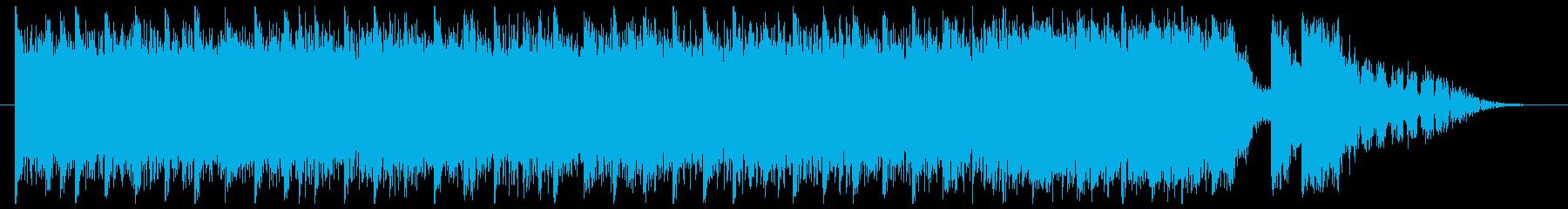 未来的で攻撃的なトラック-15秒の再生済みの波形